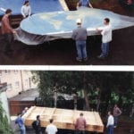 Packing the world topographic scale model for the George H. W. Bush Library and Museum