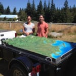 The Watershed topographic scale model at a new location